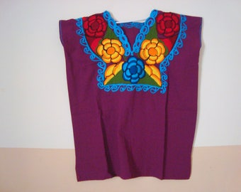 mexican blouse flower blouse