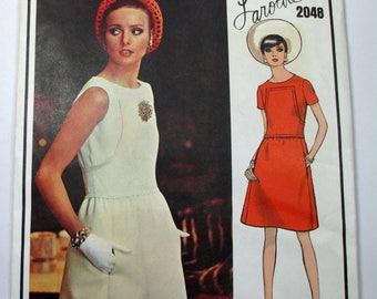 """Antique Laroche Vogue Paris Original Pattern #2048 - size 36"""" Bust"""