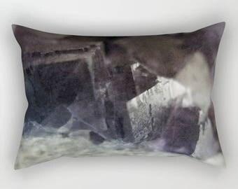 fluorite aura - pillow cover