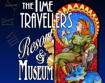 The Time Travellers Resort & Museum a signed novel by David McLain