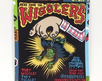 Frank Wiggler Enamel Pin