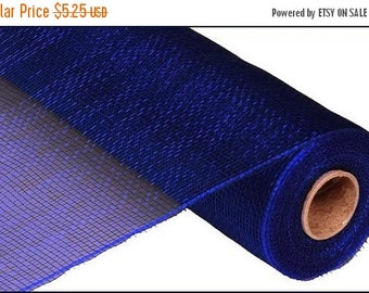 15OFFSALE 21 Inch Navy Blue Deco Mesh RE100219, Deco Mesh Supplies