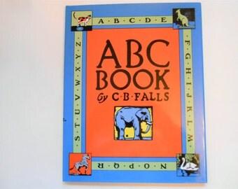 ABC Book by C.B. Falls, a Vintage Children's Alphabet Book