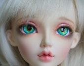 BJD eyes Doll eyes Hand made available in 12141618202224mm Blue Bayou made to order