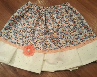 Twirl skirt - 4t floral