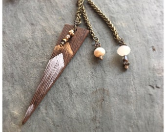 """The """"June"""" Necklace/Empowerment/Handmade/Natural"""