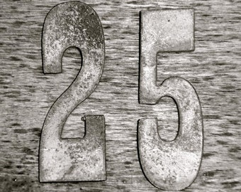 Photo of 25 - NUMBER DATE PHOTOGRAPHY, numbers Custom Date - Wedding Date -Anniversary Date - Number 25- Number Photo Art - Date Photography
