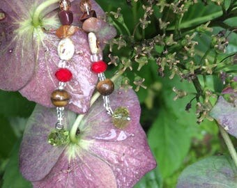 Earth tones earrings