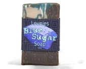 Blue Sugar Soap
