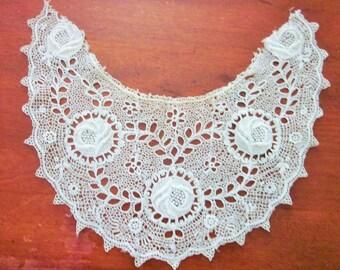 Vintage Lace Collar, Antique, Edwardian