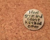 Vintage feel great enamel pin