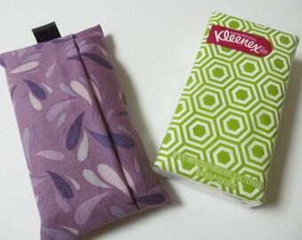 Tissue Case/Purple Drops