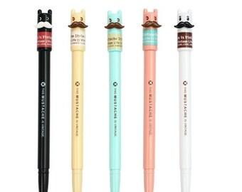 5 Pcs Pen Set - Gel Ink Pen - Kawaii Pen