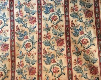 Sundown & Bourne Decorator Fabric Canterbury Drapery and Upholstery Fabric