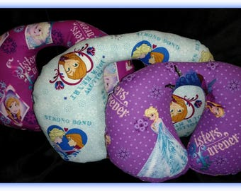 Travel Pillow - Car Seat Neck Support - Infant to Adult Sizes -  Frozen