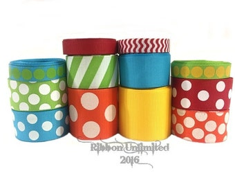 24 Yds UNDER THE SEA wholesale grosgrain ribbon collection   Low Shipping Cost