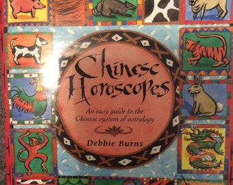 Book Chinese horoscopes HB rare new Astrology: rooster/Dragon/snake/horse/sheep or goat/monkey/dog/pig/rat/Buffalo or ox/Tiger/rabbit/81 p
