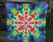 Mandala - Ice Dyed Flour Sack Towel
