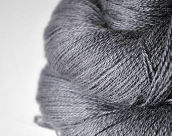Gray which must not be named  - BabyAlpaca/Silk Lace Yarn