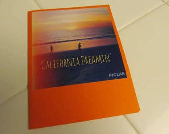 Instagram Photo Card -- California Dreamin' -- Greeting Card -- Blank Inside