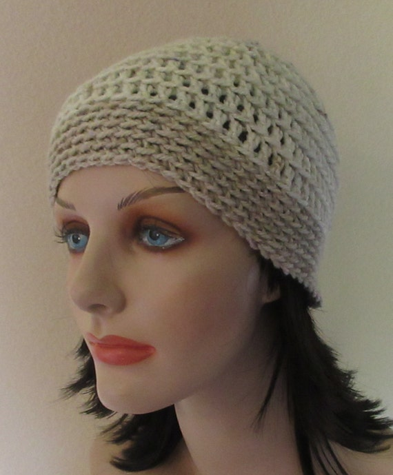 Beige Beanie, Beige Crochet Beanie, Cold Weather Accessory, Skiing, Ice Skating, Snow Playing, Wool Hat, Unisex Hat