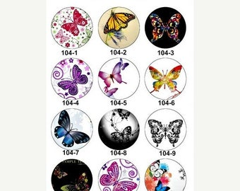 Moving 50off Sale - NEW- 12mm 20mm 25mm Handmade Photo Glass Cabochon CPC104-M25/20/12