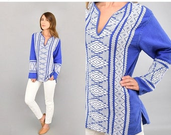 MAY SALE Guatemalan Embroidered Tunic