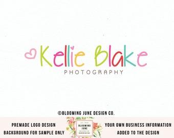 heart logo design typography logo design photography logo premade logo design bespoke logo design boutique logo design watermark logo