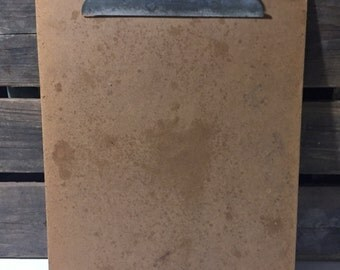 Vintage Clipboard Repurpose Home decor wall picture frame