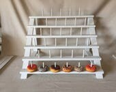 Custom Painted Donut Stand.  Can be adapted to fit Cake Pops or Push Pops too!