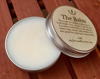 Honeysuckle Jasmine - All Natural Multipurpose Scented Body Balm Salve