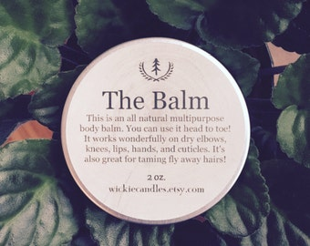 Juniper Breeze All Natural Multipurpose Scented Body Balm Salve