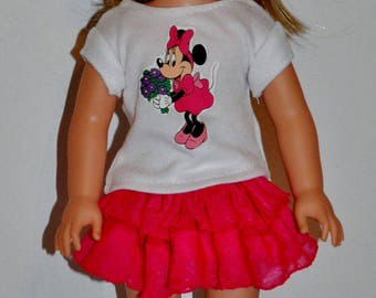 """American made doll clothes for American girl doll """" WELLIE WISHERS"""""""