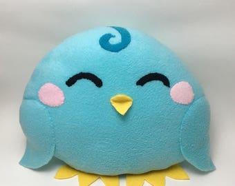 Blue Bird Chicklet Plushie Large