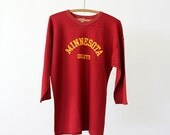 SALE vintage University of Minnesota football jersey