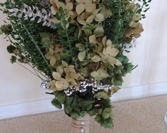 Bridal Bouquet  Preserved Bouquet    Boutonniere    Rustic Wedding   Wedding Bouquet  Boutonniere