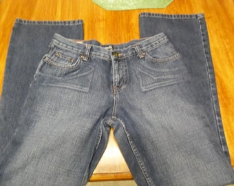 Rare DOLCE & GABBANA Vintage Womens Jeans Made Italy SZ 30/31 Factory Distressed  sold out style
