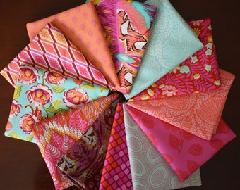 Eden & Fox Field Fat Quarter Bundle of 12 by Tula Pink of Free Spirit