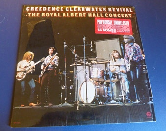 Creedence Clearwater Revival The Royal Albert Hall Concert Vinyl Record MPF-4501 Fantasy Records 1980