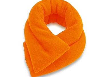 30% OFF Orange Microwave Hot Cold Neck Shouler Wrap, 5x26, Heating Pad, Neck Shoulder Back Moist Heat, Anti-pil Fleece, Spot Clean
