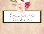 Custom Listing for Lucia Petito - Blush Bridal Belt & Blush Bridal Pin Trio