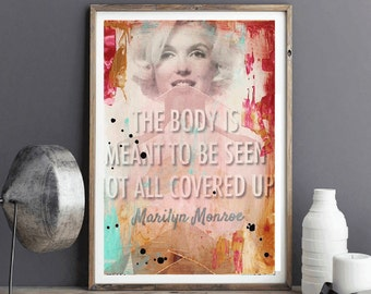 art painting  Marilyn   abstract painting  colorful aceylic painting , from jolina anthony signet  express shipping