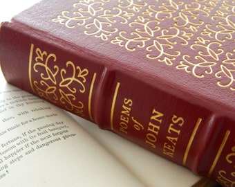 The Poems of John Keats. Easton Press Illustrated Edition.