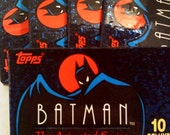 Batman Animated Trading Cards