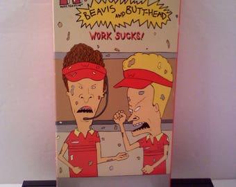Beavis and Butthead VHS