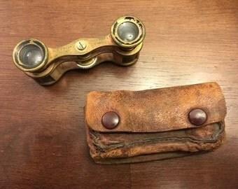 Vintage Opera Binoculars - GE Pryor Optician Binoculars Eyewear