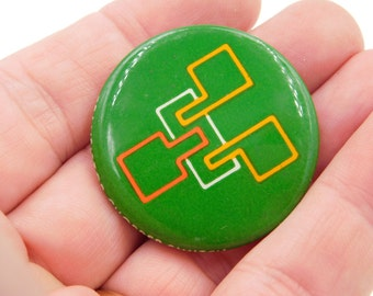 1970's Vintage Schweber Electronics Circuitry Design Electronic Engineer Pinback Button DR35