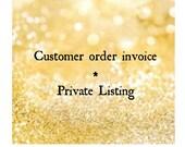 Custom listing for Jeneyha W.