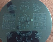 Nail Art Image Stamping Plates Christmas Jumpers Animals Keep Calm