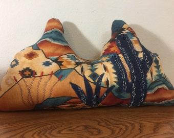 Mountain Pillow - Cactus Pillow - Desert Scene - Southwest Decorative Pillow